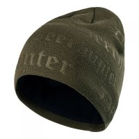 Embossed logo hat